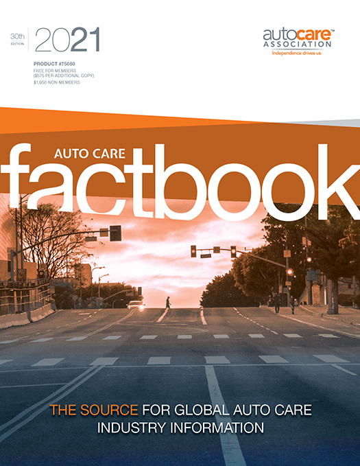 2021 Auto Care Factbook cover image
