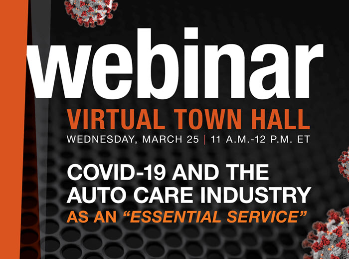 "Virtual Town Hall: COVID-19 and the Auto Care Industry as an ""Essential Service"