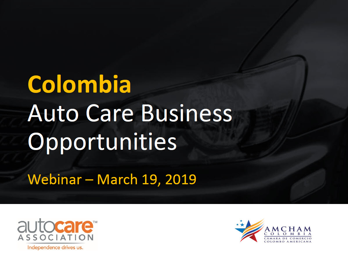 Auto Care Business Opportunities in Colombia