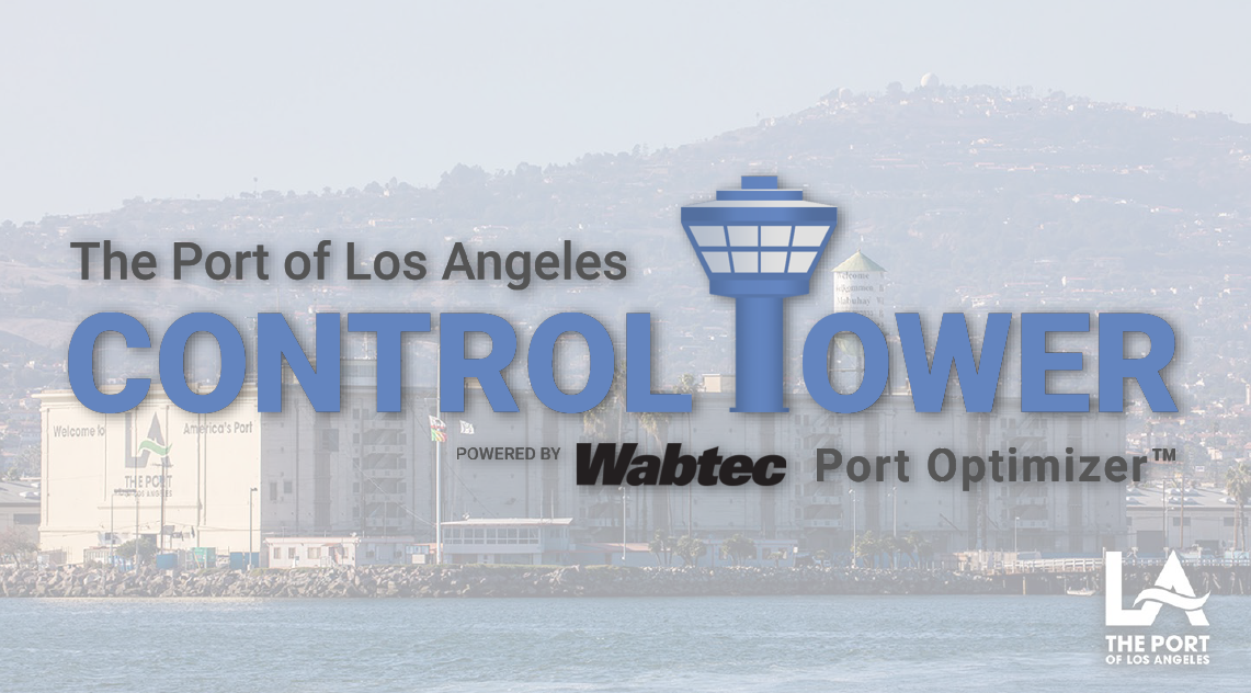 Discussion with Port of Los Angeles on Shipping Congestion Issues