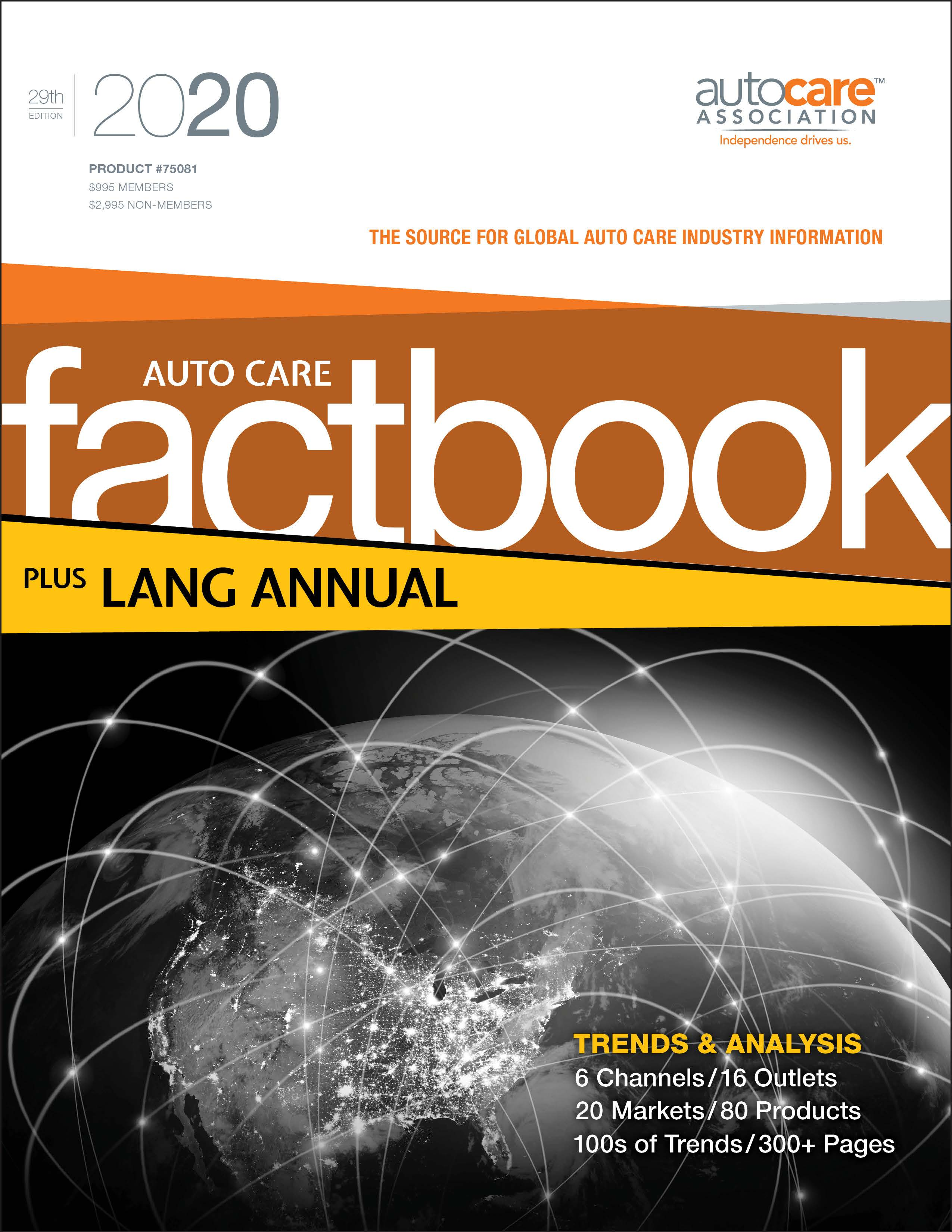 Auto Care Factbook and Lang Annual 2020