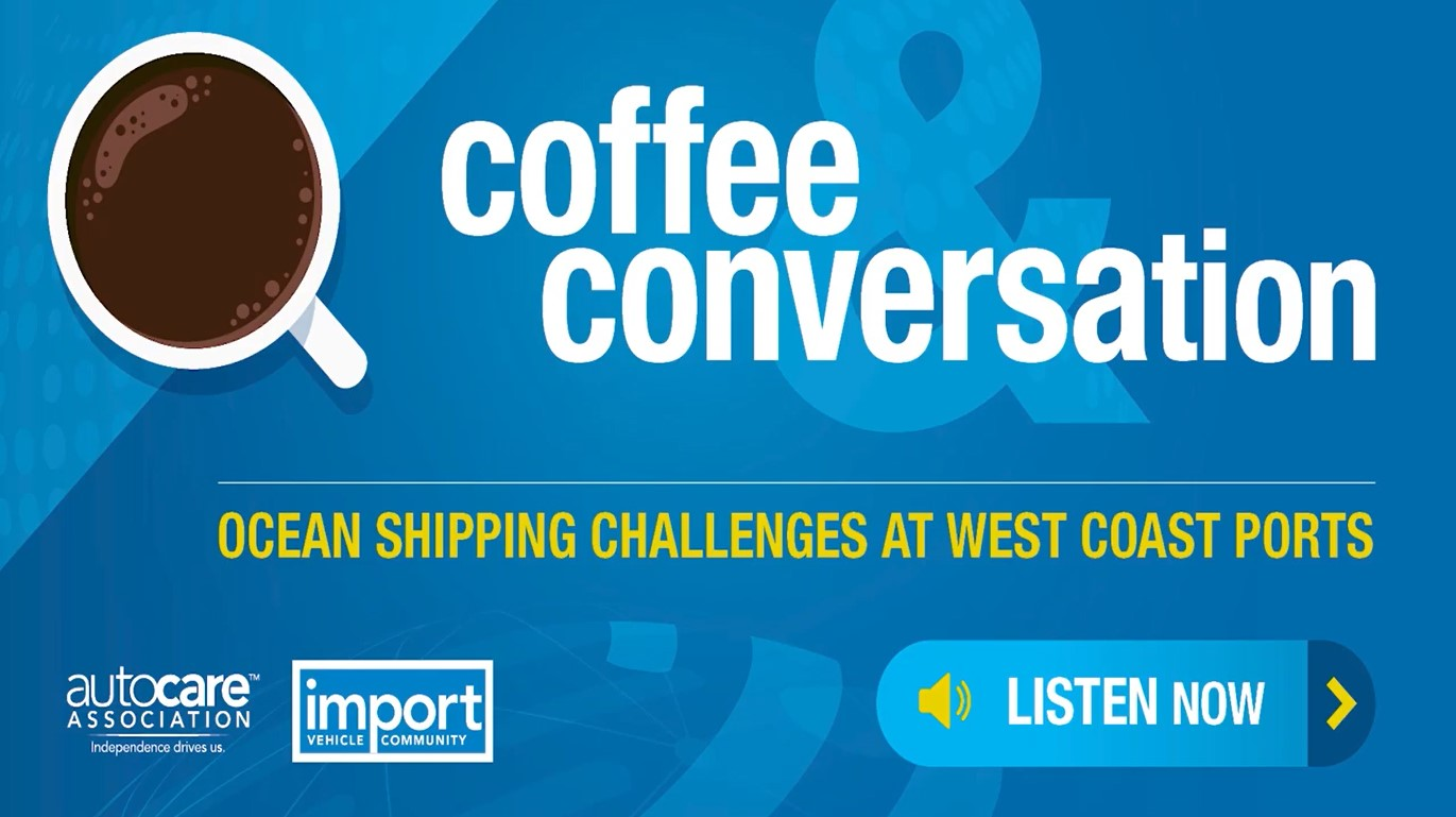 Coffee and Conversation 4: Ocean Shipping Challenges at West Coast Ports