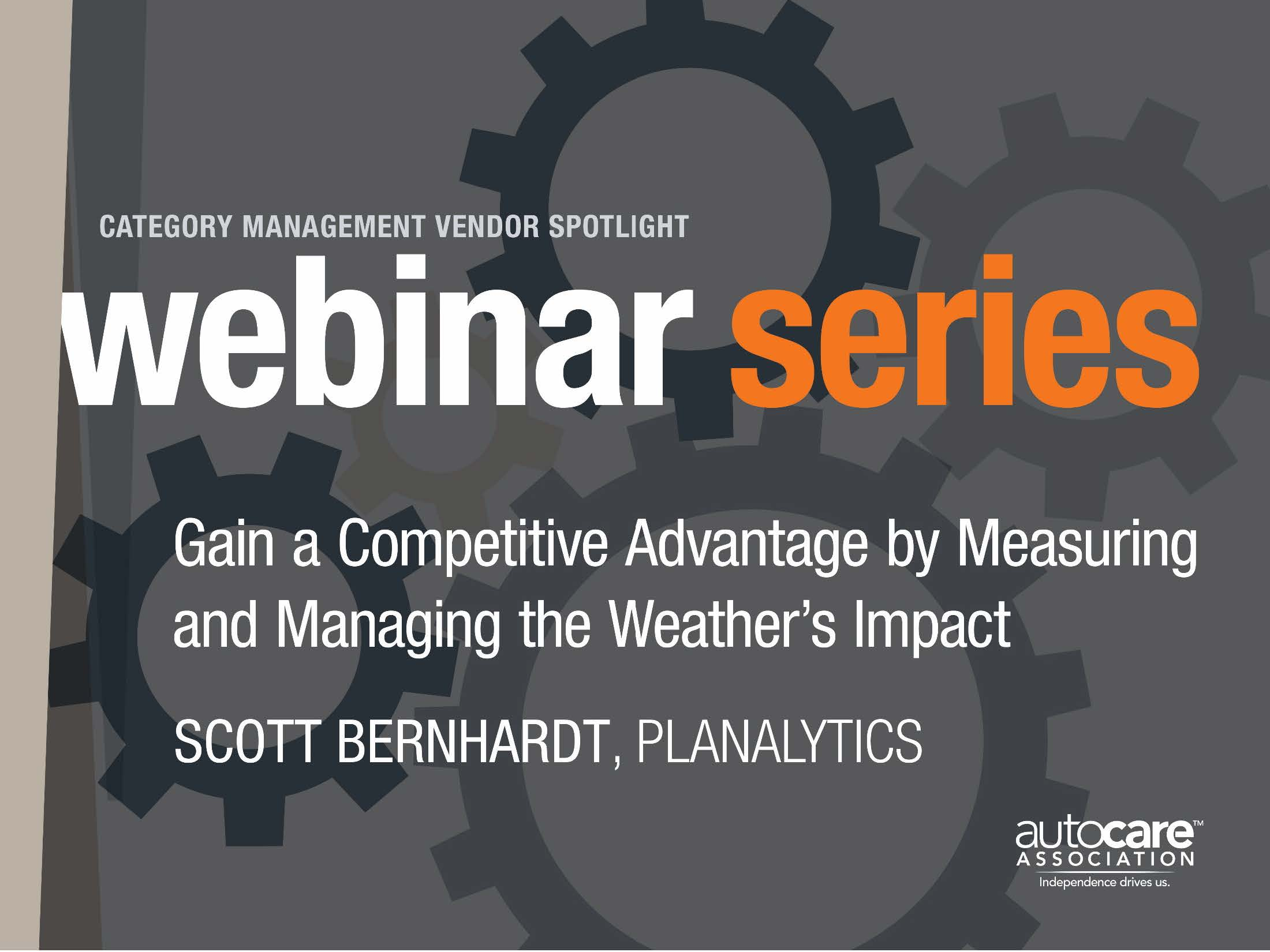 Gain a Competitive Advantage by Measuring and Managing the Weather's Impact