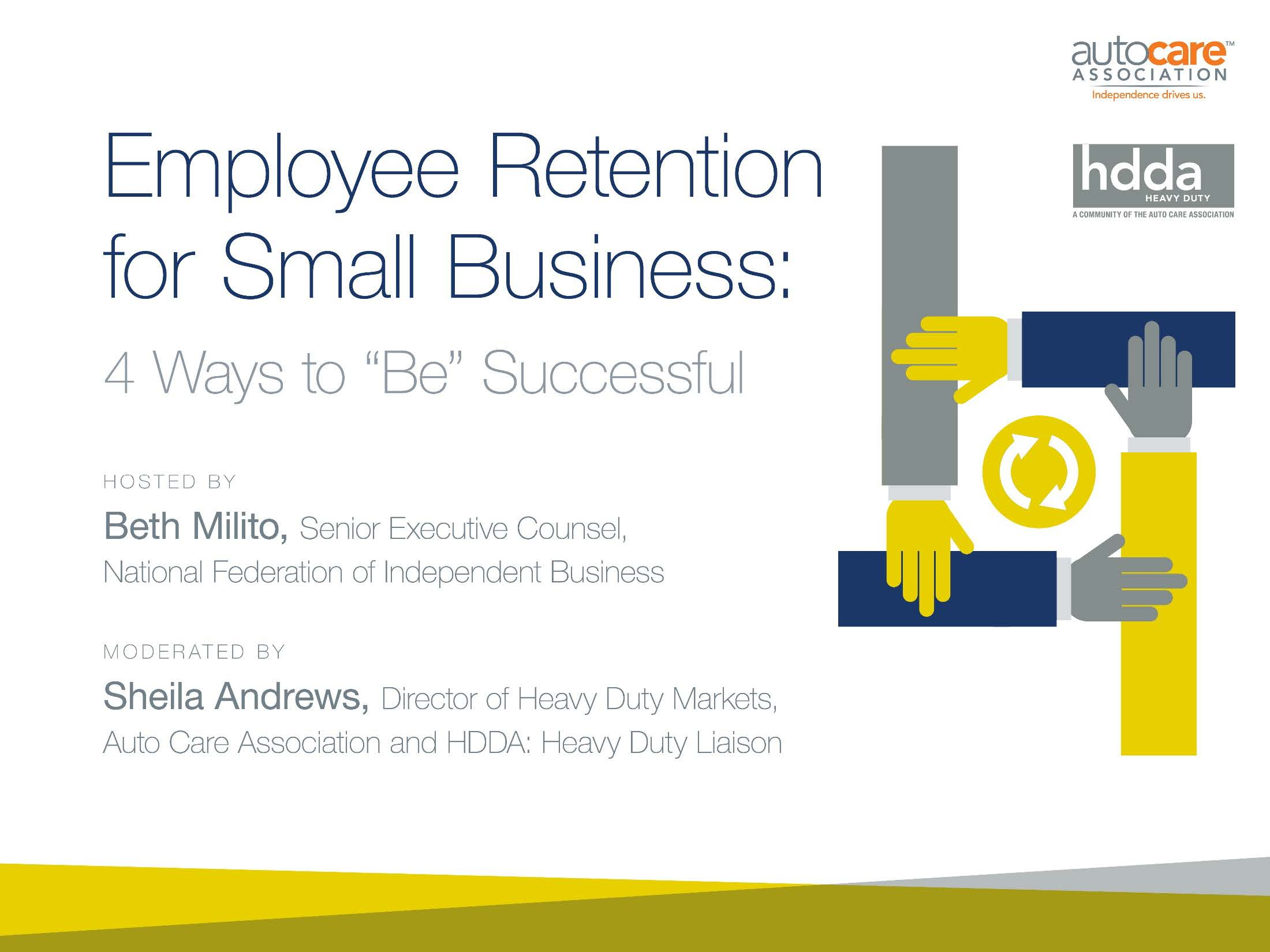 Employee Retention for Small Business: 4 Ways to