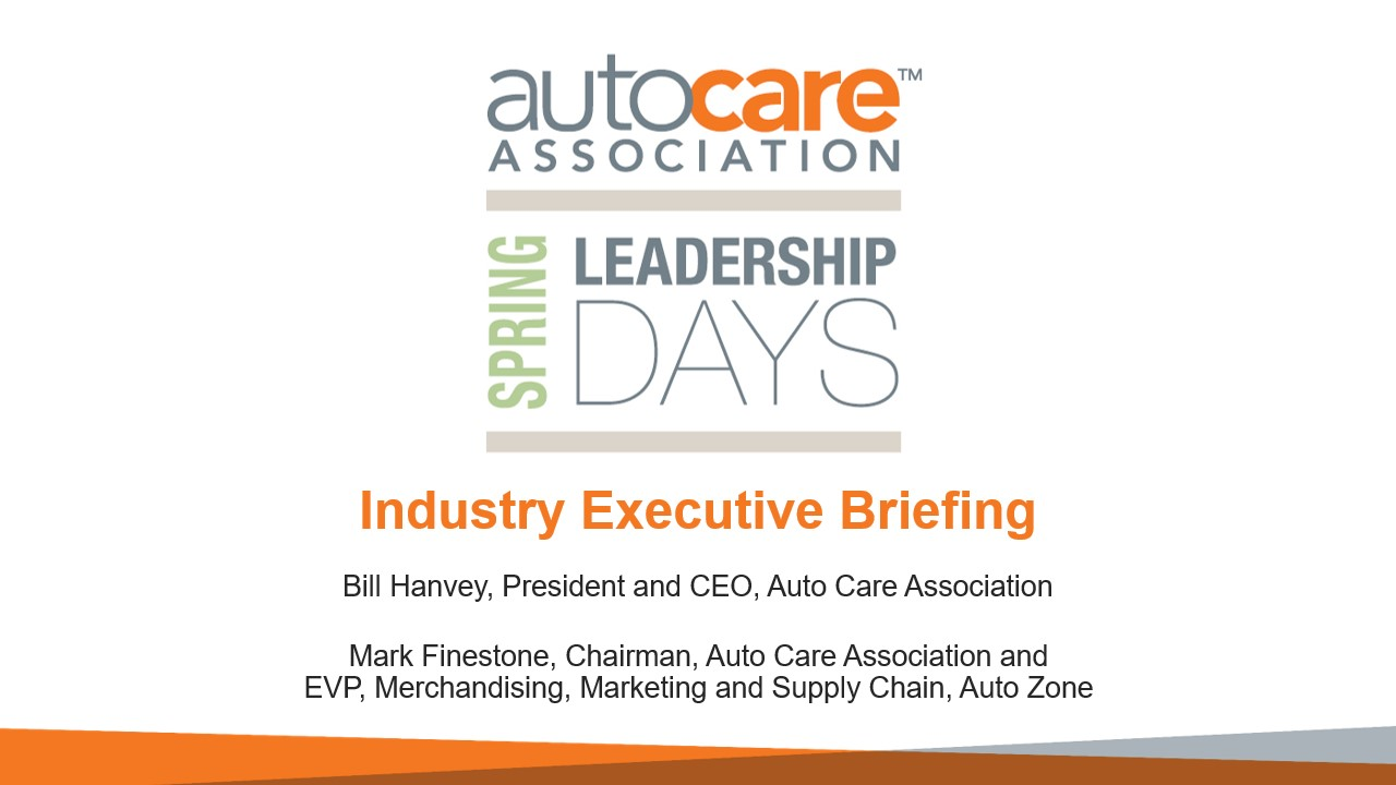 2020 Spring Leadership Days Executive Industry Briefing cover image